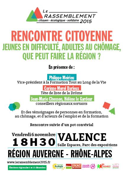 Rencontre citoyenne